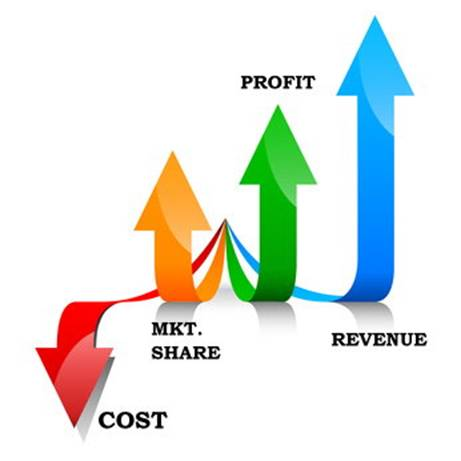Business Revenue, Profit and Market Growth
