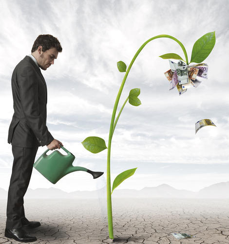 Marketing is like watering Business to Grow